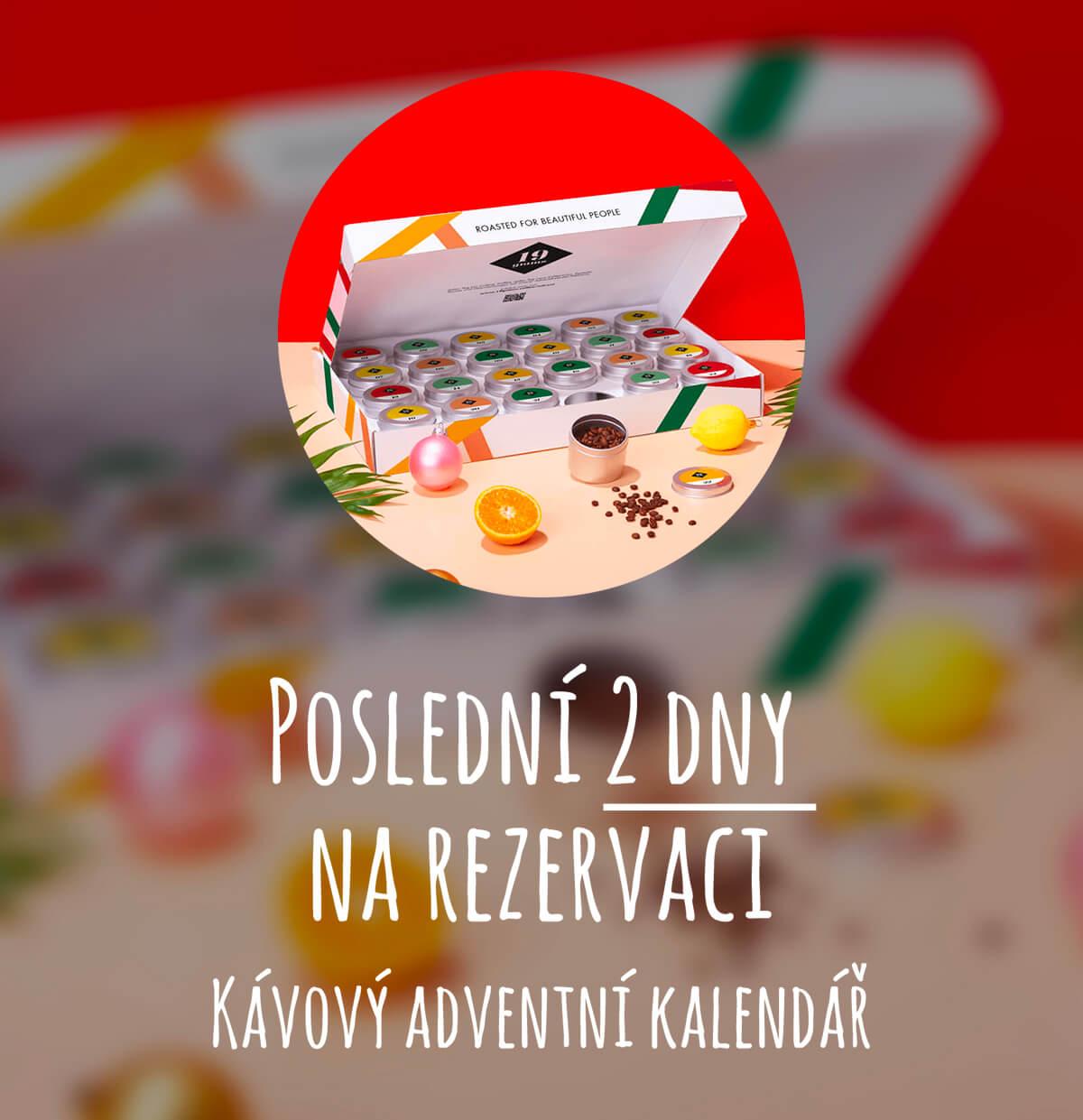 Kávový adventní kalendář